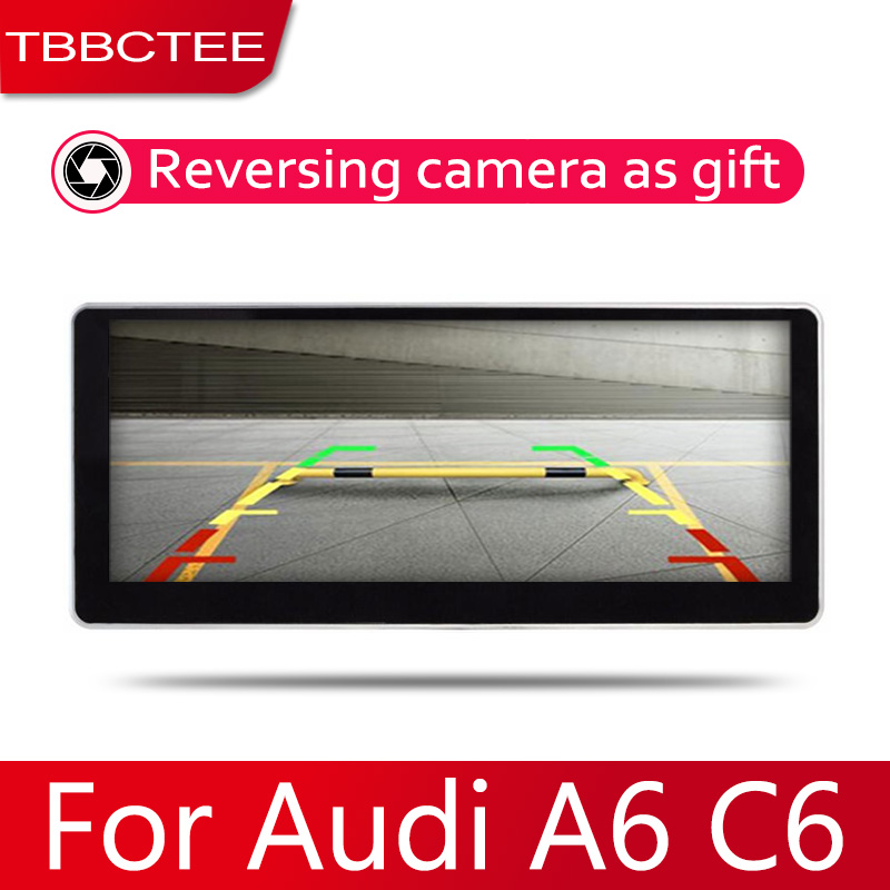 Car <font><b>Android</b></font> System 1080P IPS LCD Screen For <font><b>Audi</b></font> <font><b>A6</b></font> A6L C6 2004~2011 Car <font><b>Radio</b></font> Player GPS Navigation BT WiFi AUX image