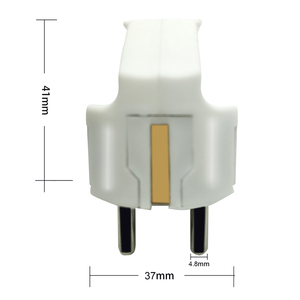 Image 4 - 4000W EU European Power Plug Electrcial Extension Cord Cable Wired Plug Adapter French Russia Korea Germany Thailand