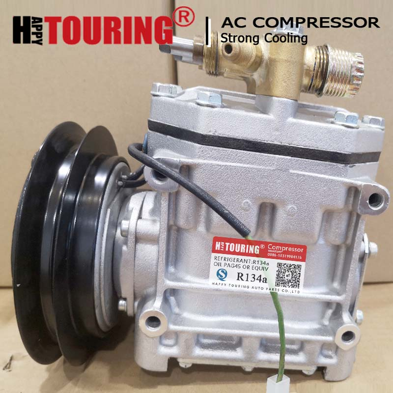 Compresor de aire acondicionado para mitsubishi Bus, refrigerador Frozen, R404A, CR2211L-A, R2211L, 24V