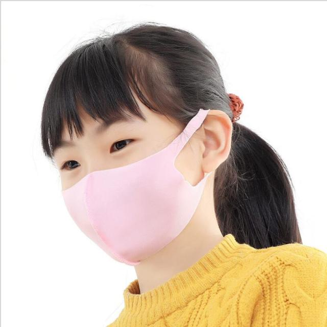 3-10 years  Kids mouth mask Flexible Bacteria proof mask Windproof Mouth-muffle Cycling Wearing Anti-Dust Face Mask on the mouth 3