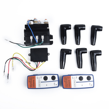 12V 500A Contactor Winch Control Relay Twin Wireless Recovery Truck Off Roaders Winch Remote Kit