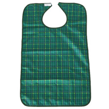Water Resistant Senior Bib Adult Mealtime Clothing Protector Disability Aid Eating Apron