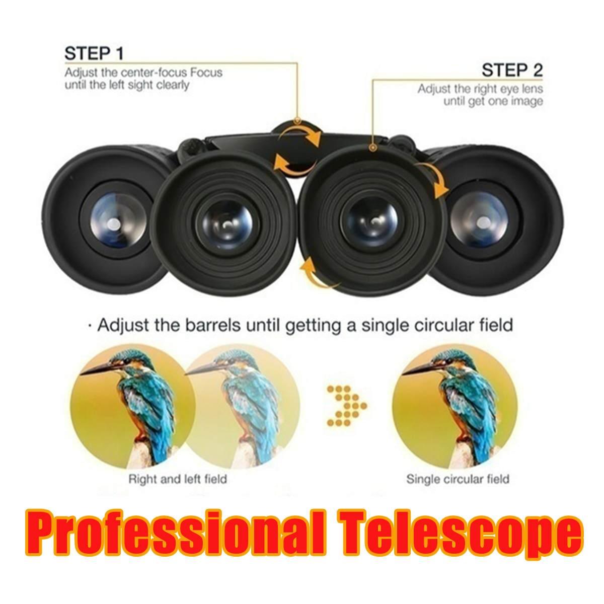 telescópio dia visão noturna binóculos caça acampamento