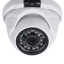 """كاميرا تلفزيونات الدوائر المغلقة 2.0MP 1.7 مللي متر عدسة 1/2.8 """"CMOS اللون AHD عالية الدقة نايتفيسون داخلي كاميرا بشكل قبة كاميرا الأمن التناظرية"""