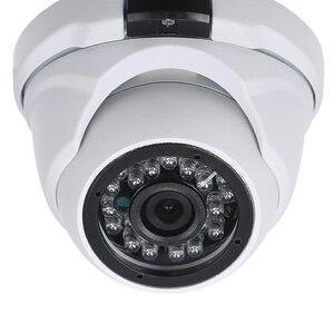 """Image 1 - Güvenlik kamerası 2.0MP 1.7mm Lens 1/1/2 """"CMOS renk AHD yüksek çözünürlüklü gece görüş kapalı Dome kamera Analog güvenlik kamera"""