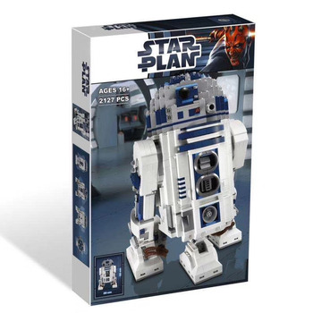 Lepining 05043 Star movie Wars Space Out of Print The R2-D2 Robot Model Blocks 2127pcs Bricks Toys Lepining 10225 2