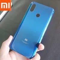 Funda Original Xiaomi mi 8 mi8, cubierta trasera de cristal para batería, carcasa para puerta trasera, carcasa para Panel de recambio para teléfono, funda con adhesivo