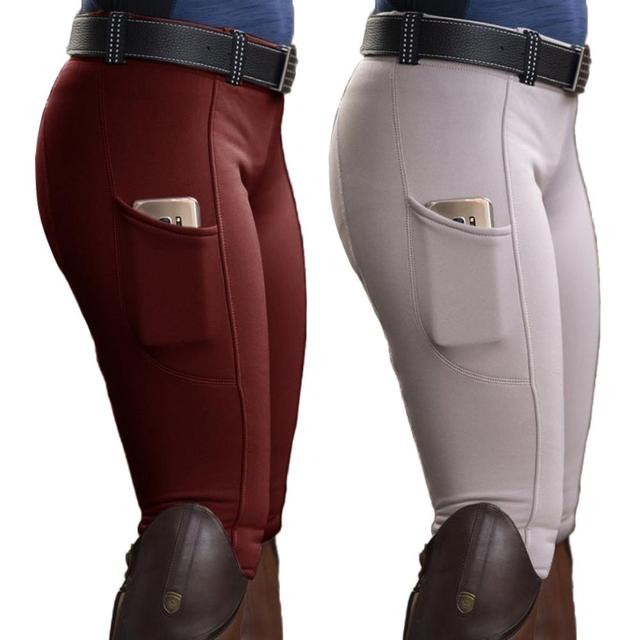 Womens Horse Racing  Spandex Trousers For Equestrian Riding Exquisite Design  2