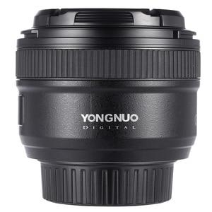 Image 2 - IN STOCK! YONGNUO YN 50mm f1.8 AF Lens YN50mm Aperture Auto Focus Large Aperture for Nikon DSLR Camera D800 D300 D700 Lens