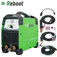 REBOOT Tig Welder Pulse Digital High Frequency 200A Inverter Dual Volt 110/220V TIG Welding Machine IGBT ARC Stick TIG 200P