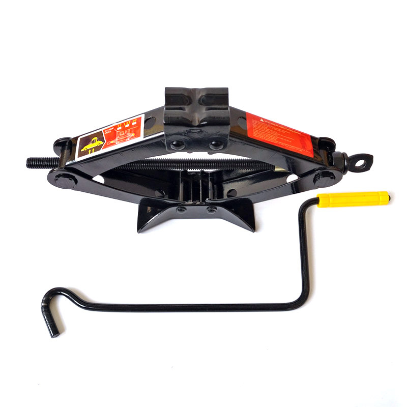 Manufacturers Direct Selling Hand-cranking Lifting Jack 1 Tons 0.75 Tons Basic Hand Tool Hand Scissor Jack 1.5 Sleeves