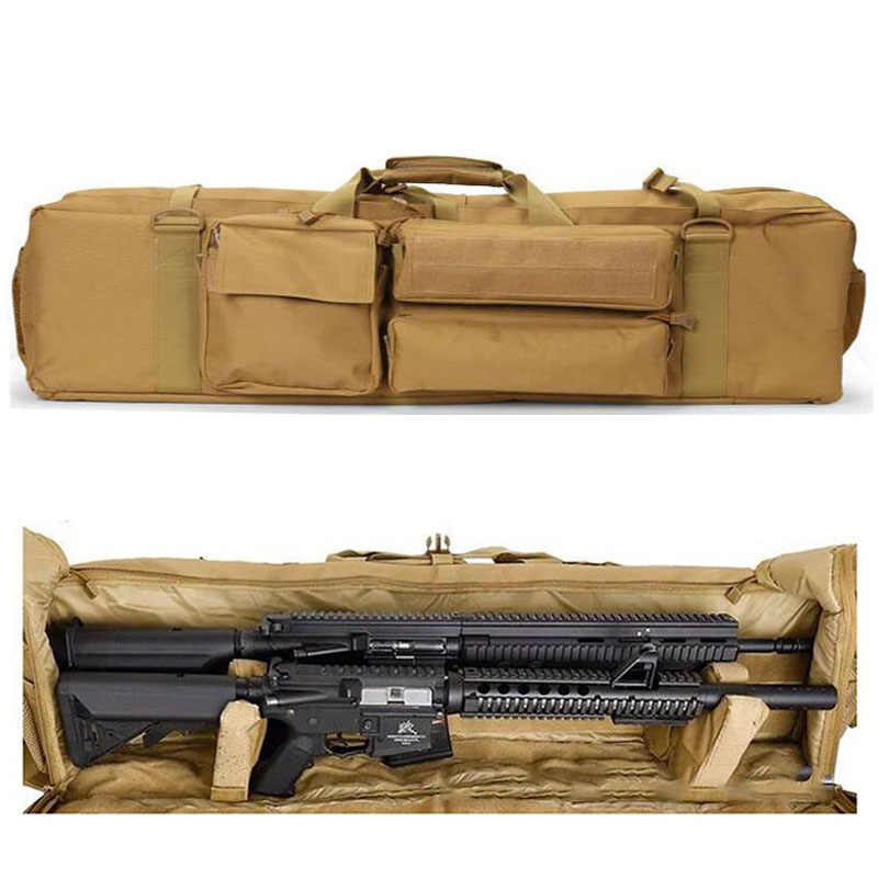 Taktische Militärische M249 Gun Tasche Airsoft Gewehr Rucksack Outdoor Jagd Schießen Gun Durchführung Schutz Fall Mit Schulter Gurt