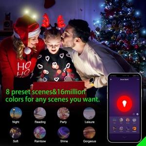 Image 3 - Смарт розетка с монитором питания, 16 А, RGB, Wi Fi, голосовое управление