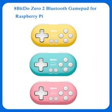 Mando Bluetooth 8BitDo Zero 2 para Nintendo Switch, Windows, Android y macOS para Raspberry pi 2B/3B +/4B/zero W/zero WH(China)