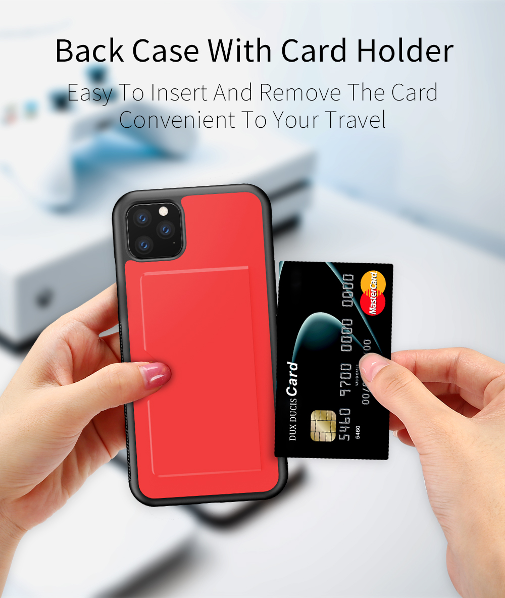 Chirm Card Pocket Case for iPhone 11/11 Pro/11 Pro Max 4