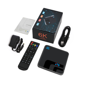 Image 5 - Android 9.0 H6 MAX Allwinner H6 TV Set Top Box 4G 32G HD 6K Media Playerกล่องทีวีGoogle Voice Assistant