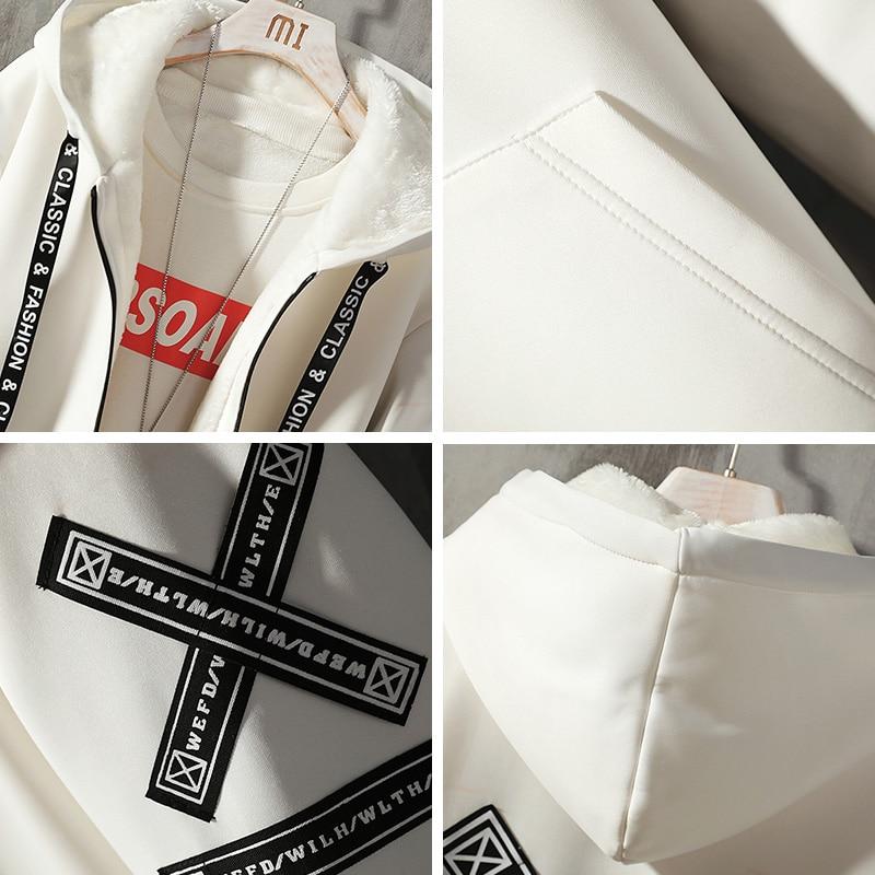 Мужская зимняя куртка, Длинная с капюшоном, тонкая, модная, повседневная, толстая, теплая, куртка, Мужская, размера плюс, 5XL, мужская одежда - 5