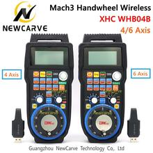 XHC CNC Handwheel Wireless Mach3 MPG Pendant Handwheel For Milling Machine 4 6 Axis MPG WHB04B-4 WHB04B-6 NEACARVE
