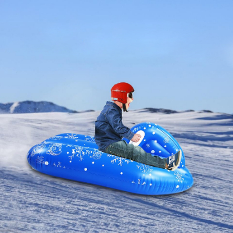 H859ef40c36b44d2a8986e20e1234d06bB - Winter Snow Tubing Inflatable Ski Circle Cold Resistant PVC Outdoor Sport Kids Toys Snow Tube Skiing Accessories For Children