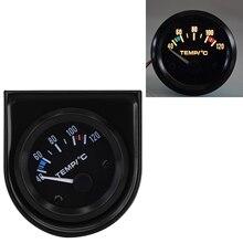 2 52mm Car Auto Digital LED Water Temp Temperature Gauge 40℃-120℃ Spare Tool