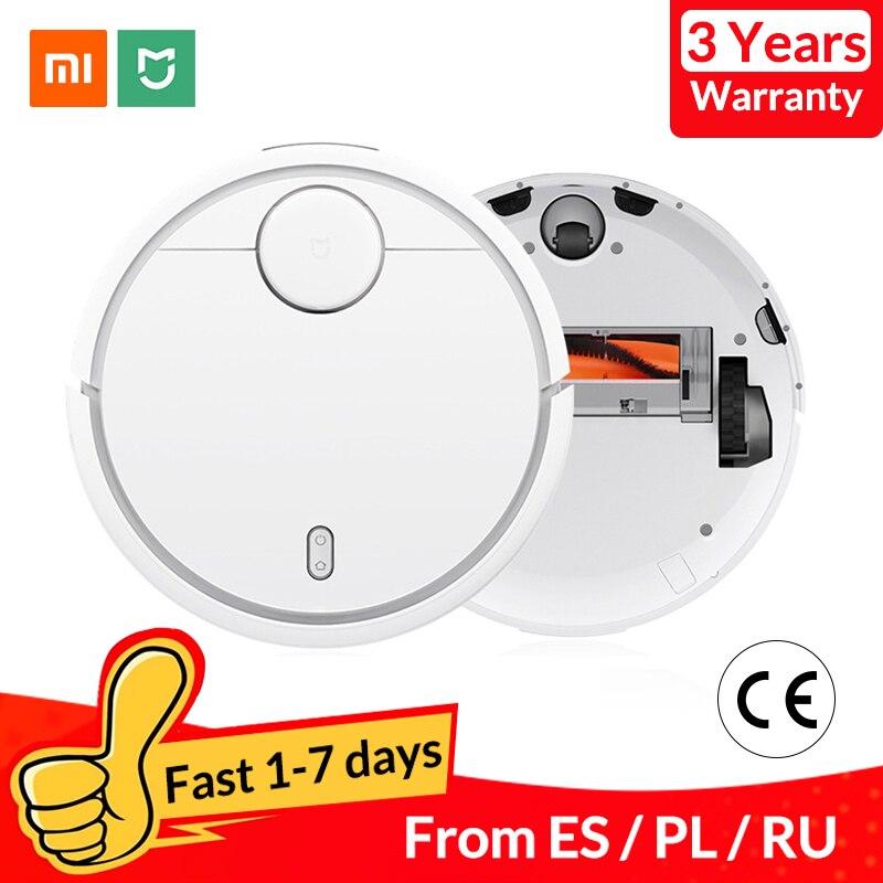 Original Xiao mi mi Robot aspirateur pour la maison automatique balayage Charge poussière nettoyeur intelligent planifié mi jia App télécommande