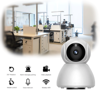 IP Camera Home Security Camera with Rotatable Night Vision Motion Detection WiFi Camera for Home Office Baby Monitor V380