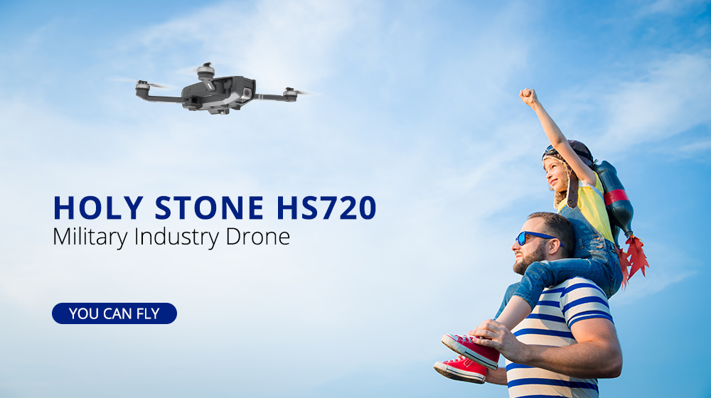Holy Stone HS720 RC Professional Quadcopter Drone with GPS and 26 Min Flight Time 6