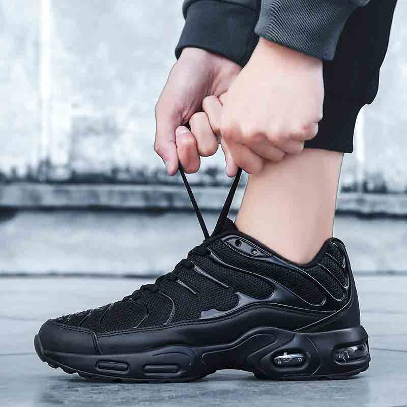 Heidsy 2020 New Fashion Casual Shoes Men Sneakers Air Cushion Comfortable Breathable Non-leather Casual Lightweight Shoes Men