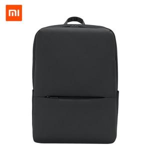 Image 1 - Original Xiaomi Classic Business Backpack 2 Generation 15.6inch Students Laptop Shoulder Bag  Unisex Outdoor Travel