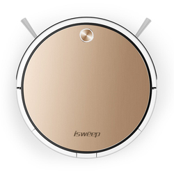 Isweep X3 Robot Vacuum Cleaner APP Control 1800 PA Wet and Dry Home Sweeper Auto Recharge EU Plug English Version Gift 2 Brush