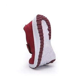 Image 5 - MWY Vrouwen Casual Schoenen Mode Ademende gebreide Vrouwen Sneakers Haak Loop Soft Trainers Outdoor Wandelschoenen Chaussure Femme