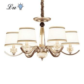 цена Vintage LED Chandelier Light Living Room Bedroom Decoration Chandeliers Lamp Restaurant Indoor Lighting Fixture Hanging Lamp E14 онлайн в 2017 году