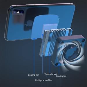 Image 4 - الهاتف المحمول برودة مروحة التبريد ل IOS آيفون أندرويد هواوي سامسونج الهاتف الذكي PUBG لعبة حامل لوحة التبريد