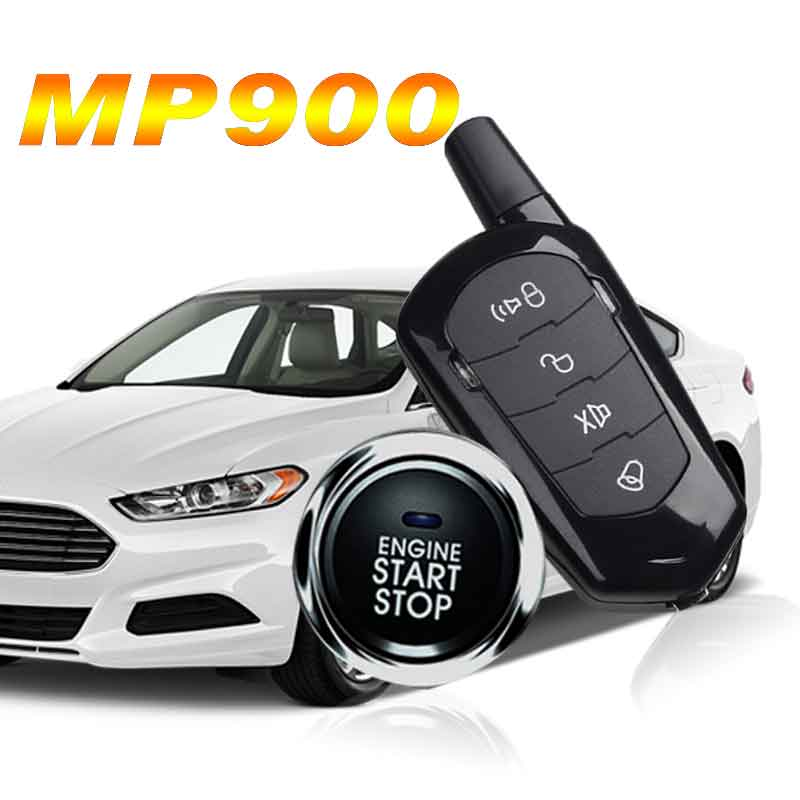 Car Bluetooth Central Locking With Remote Start And Alarm Vibration Alarm Starline A93 Start Stop Button Keyless Entry Car Alarm