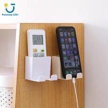 Настенный держатель для смартфона 1 шт настенный стеллаж хранения