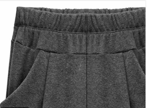 الأصلي تصميم عالية الشارع المرأة المتضخم السراويل السراويل رداء الرجعية الإناث أنيقة فضفاضة المخملية عارضة سراويلي حريمي K390