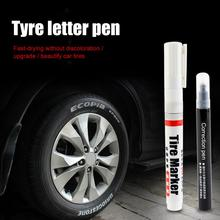 White Permanent Tire Marking Pen For Automobile Tire/Motorcycle Tire Paint Metal Face Permanent Toyo Paint Marker Pen