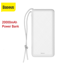 Baseus 20000mah Power bank Fast Charger Outdoor Phone Charge