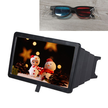 Amplifier Smartphone-Screen Video-Enlarge iPhone Portable 3D with Glasses 8inch for Huawei