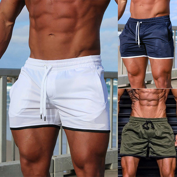 2020 Men Shorts Breathable Sports Jogging Training Quick Dry Casual Mens Summer Running Gym Fitness Workout Pocket Shorts D30 arsuxeo 2019 men's running shorts 2 in 1 quick dry sports shorts active training exercise jogging shorts breathable b202