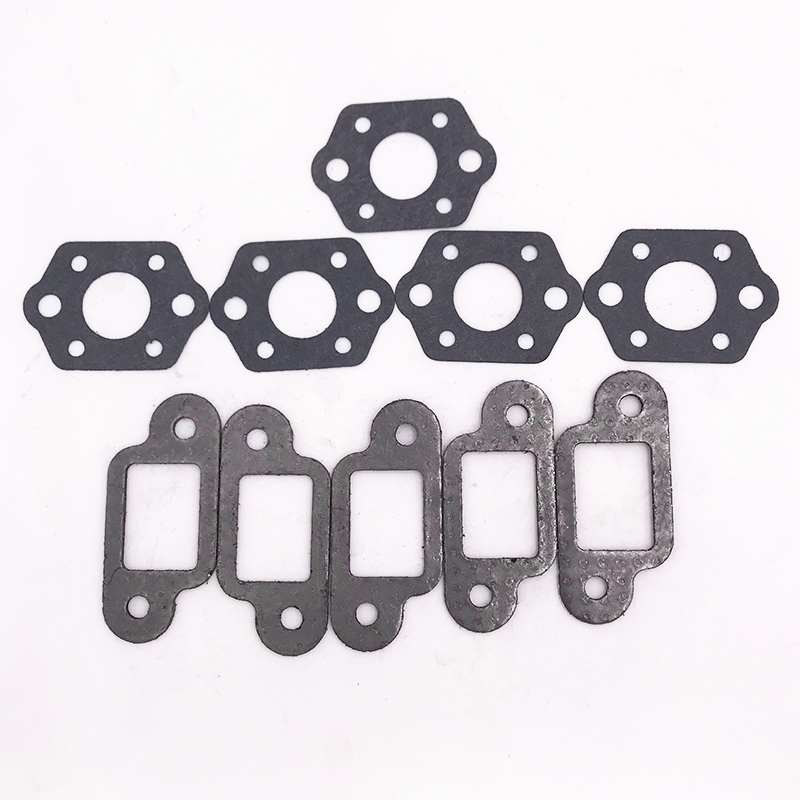 5Pcs Muffler Carburetor Gasket Kit For STIHL 021 023 025 MS210 MS230 MS250 MS 210 230 250 Chainsaws Spare Parts #1123 129 0900