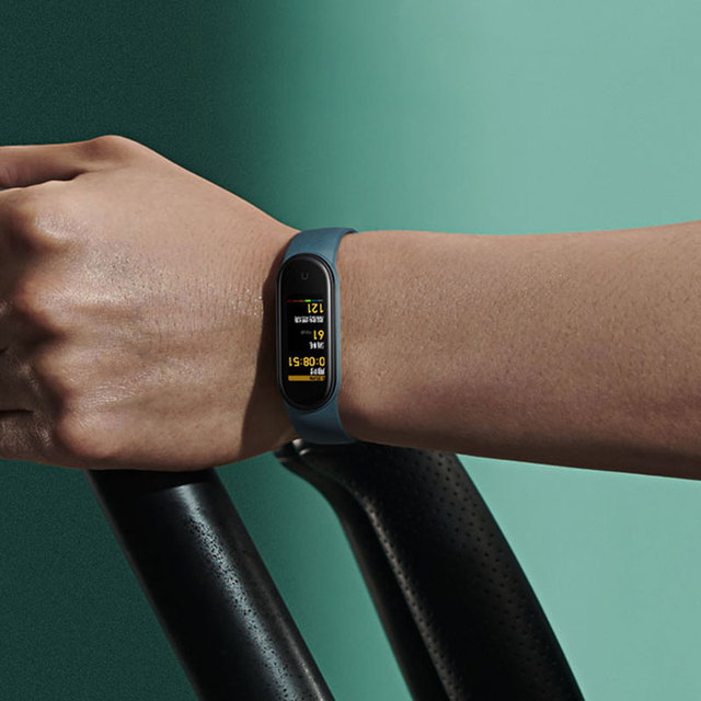 "In Stock Xiaomi Mi Band 5 Smart Bracelet 1.1"" AMOLED Colorful Screen Heart Rate Fitness Tracker Bluetooth 5.0 Waterproof Miband5"