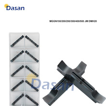 Carbide Inserts Slot MGGN300 MGGN150 MGGN200 MGGN600 MGGN400 MGGN500 JM Grooving Blade CNC Lathe Cutter Tool Hard Steel