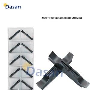 Image 1 - Hartmetall Einsätze Slot MGGN300 MGGN150 MGGN200 MGGN600 MGGN400 MGGN500 JM Einstechen Klinge Cnc drehmaschine Cutter Werkzeug Harten Stahl