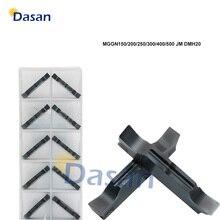 קרביד מוסיף חריץ MGGN300 MGGN150 MGGN200 MGGN600 MGGN400 MGGN500 JM Grooving להב CNC מחרטה חותך כלי קשה פלדה