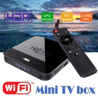 android 4 2 Android 9.0 Tv box H96Mini H8 Rockchip RK3328 1GB 8GB 16GB Android box 2.4/5.0G WiFi Google Play Android Tv box (1)