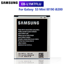 Samsung Original Replacement Battery EB-L1M7FLU For Samsung Galaxy S3 Mini I8190 GT-i8200 i8200 S3Mini GT-I8190 I8190N 1500mAhh original new for samsung galaxy s3 mini gt i8190 lcd screen and digitizer assembly