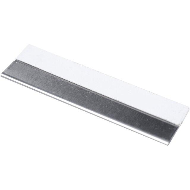 10 Pcs Stainless Steel Straight Edge Shaving Razor Blade 1