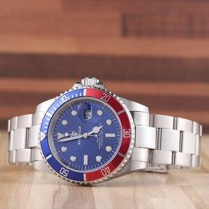 Image 5 - REGINALDนาฬิกาผู้ชายGMTหมุนได้ญี่ปุ่นMiyota 2115 Movtสแตนเลสสตีลนาฬิกาควอตซ์Relogio Masculino