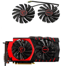 95MM PLD10010S12HH Fans & Cooling For MSI GTX 1060 1070 1080 TI RX 470 570 RX580 Gaming GPU Video Card Fan